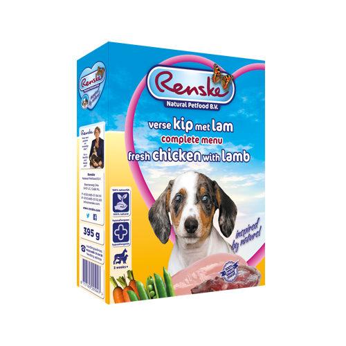 Renske Frischfleisch Puppy Hundefutter - Schälchen