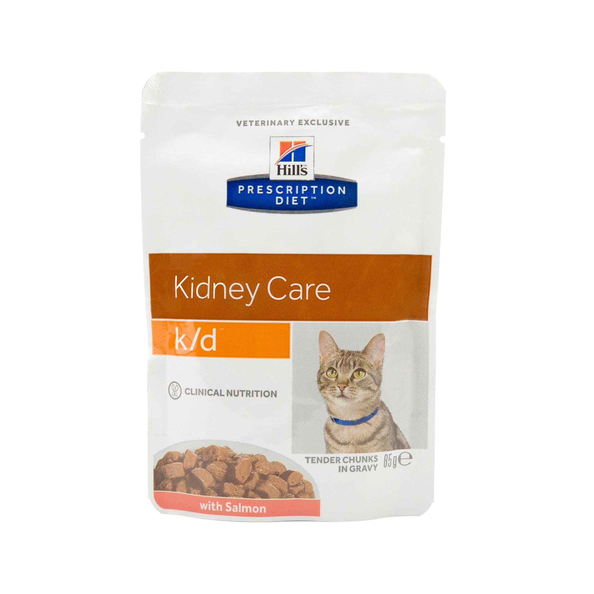 Hill's Prescription Diet k/d Kidney Care Katzenfutter - Frischebeutel - Lachs
