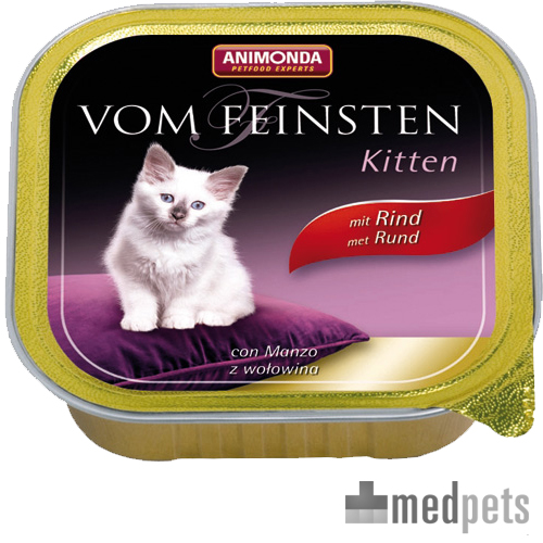 Animonda Vom Feinsten Kittenfutter - Rind