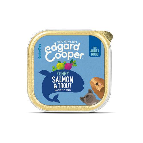 Edgard & Cooper Adult Hundefutter - Schälchen - Lachs & Forelle