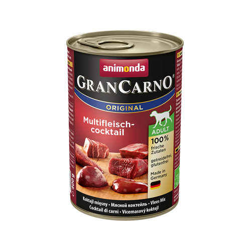 Animonda GranCarno Original Adult Hundefutter - Dosen - Multifleischcocktail