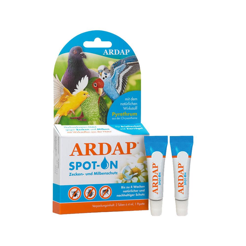 Ardap Spot-On für Vögel und Tauben - 2 x 4 ml