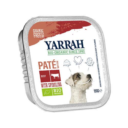 Yarrah Multipack Bio Paté Hundefutter - Schälchen - Rind