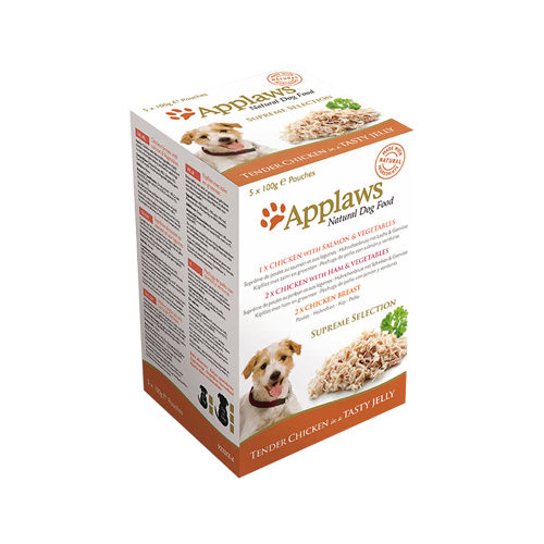 Applaws Supreme Selection in Jelly Hundefutter - Frischebeutel