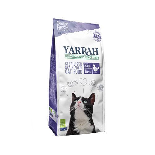 Yarrah Bio Sterilised Grain-Free Katzenfutter