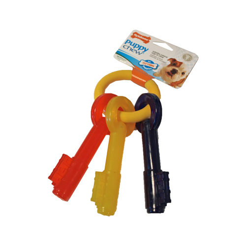 Nylabone Teething Puppy Keys