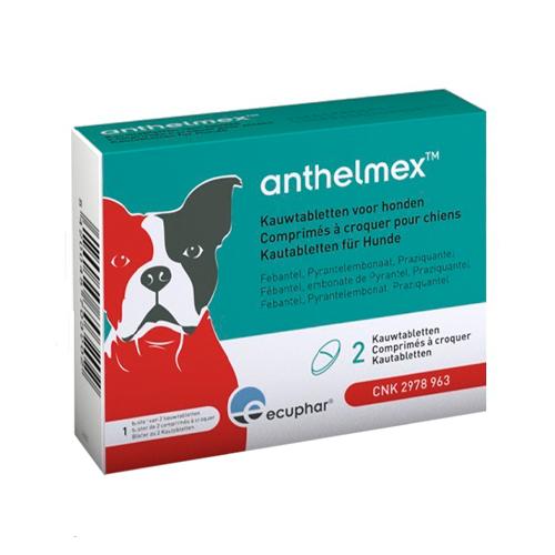 Anthelmex - 2 Tabletten