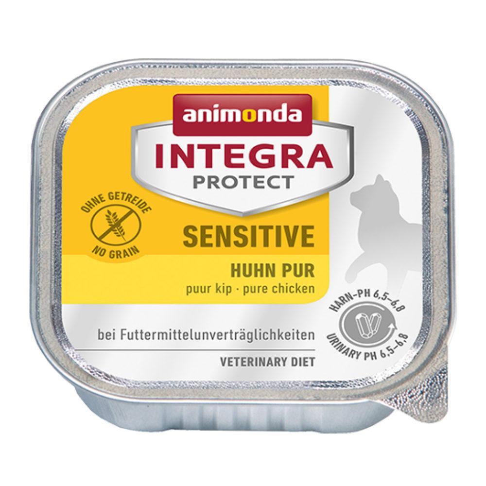 Animonda Integra Protect Sensitive Katzenfutter - Schälchen - Huhn