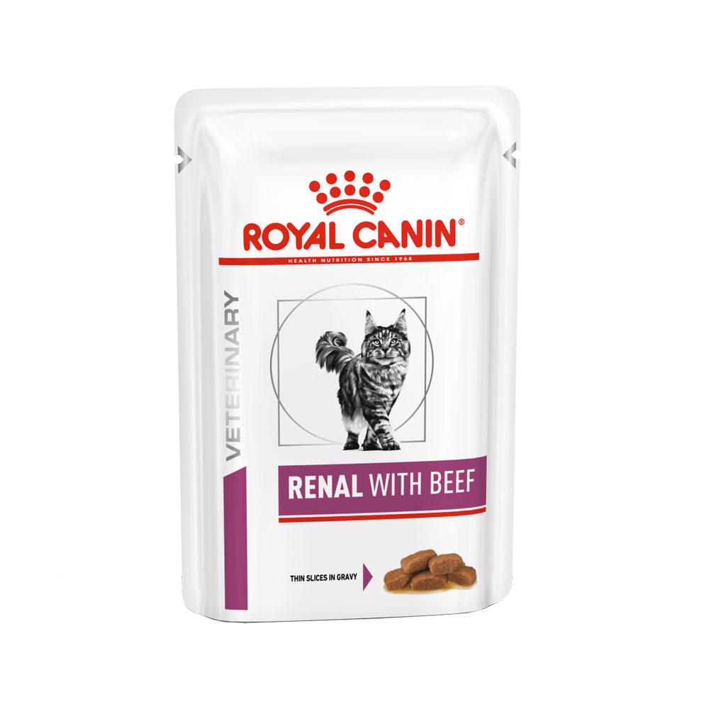 Royal Canin Renal Katzenfutter - Frischebeutel - Rind