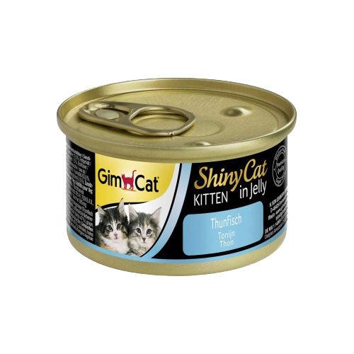 GimCat ShinyCat Jelly Kittenfutter - Dosen - Tuna