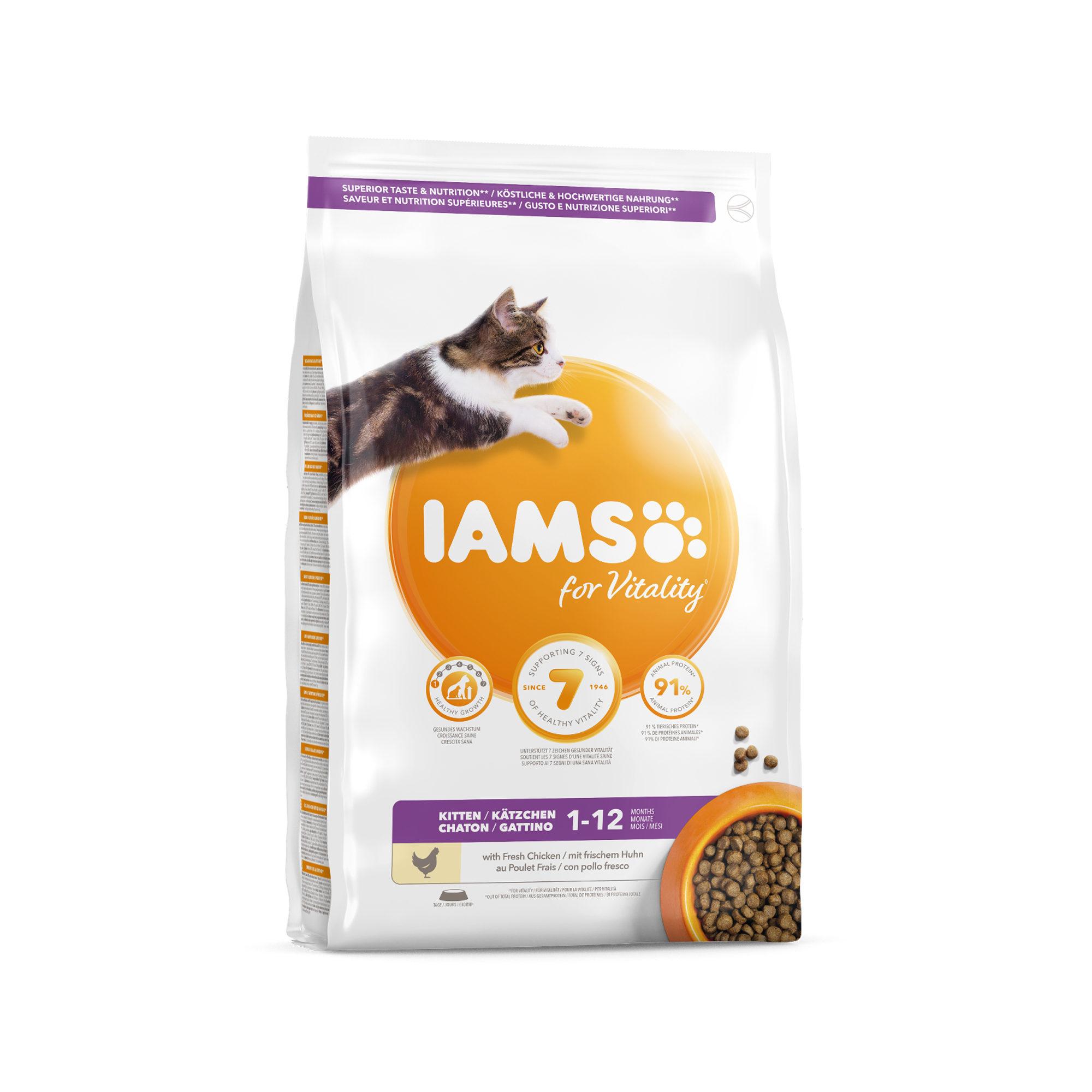 IAMS Kitten & Junior Kittenfutter
