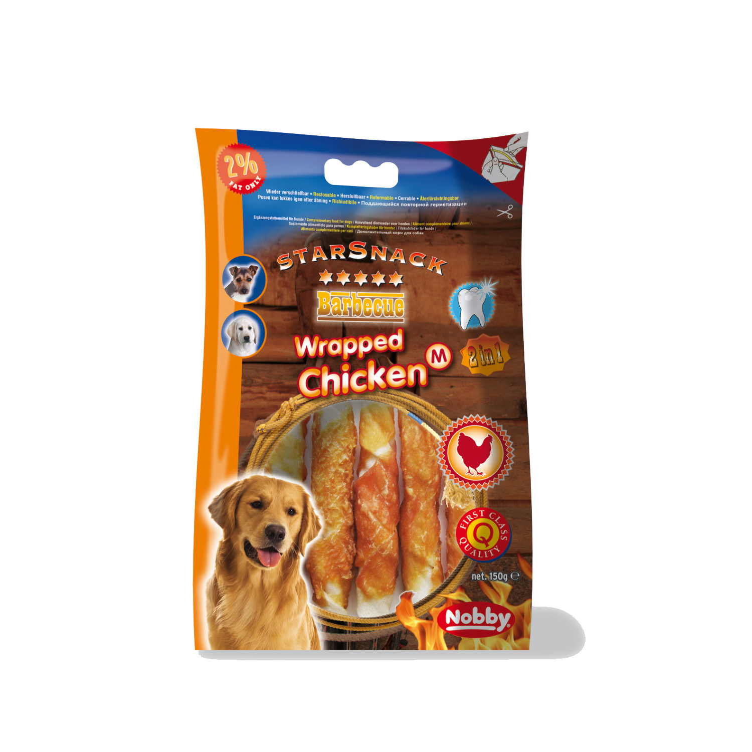 Nobby Starsnack - Chicken Wrapped