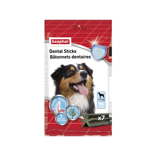 Beaphar Dental Sticks - Medium / Large (mehr als 10 kg)