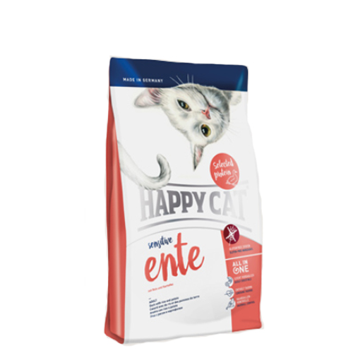 Happy Cat Sensitive Grainfree Katzenfutter - Ente