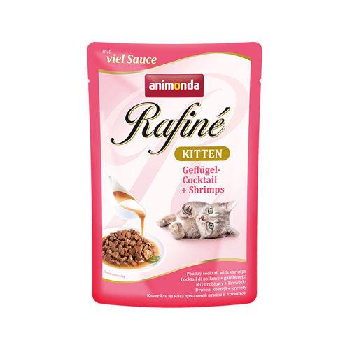 Animonda Rafiné Soupé Kittenfutter - Frischebeutel - Geflügel & Garnelen