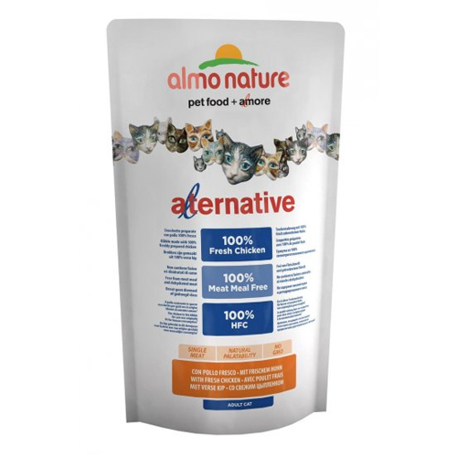 Almo Nature Alternative Katzenfutter - Huhn & Reis
