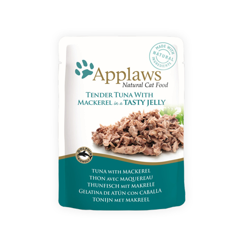 Applaws in Jelly Katzenfutter - Frischebeutel - Tuna & Mackerel