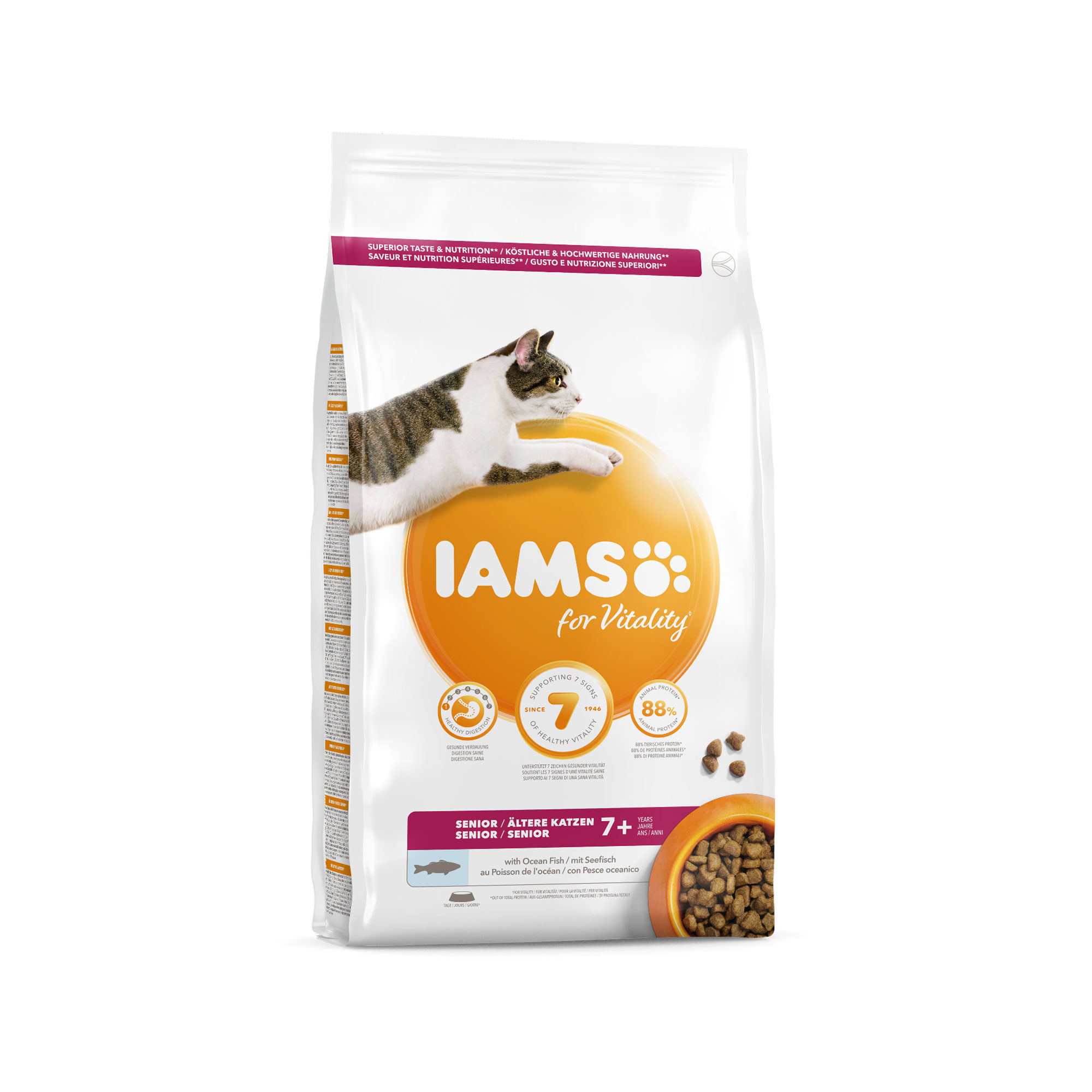 IAMS For Vitality Senior Katzenfutter