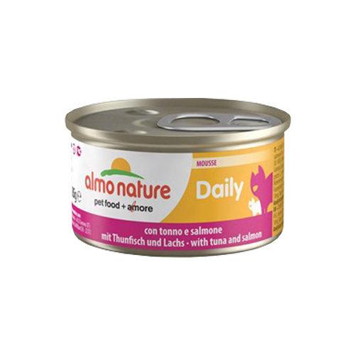 Almo Nature Daily Menu Mousse Katzenfutter - Dosen - Thunfisch & Lachs
