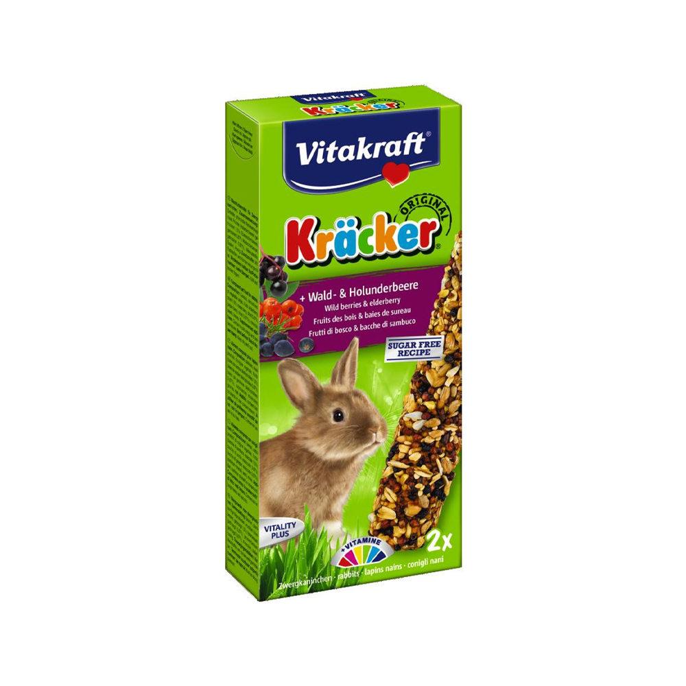 Vitakraft Kaninchen Kräcker - Wald- & Holunderbeere