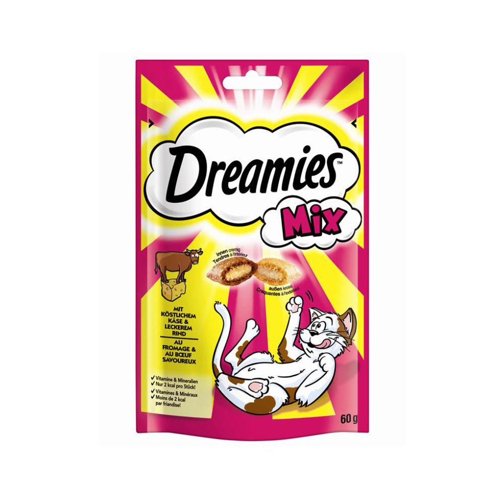 Dreamies Katzensnack Mix - Käse & Rind