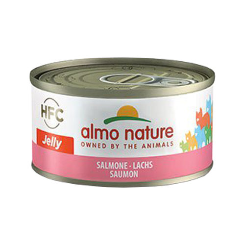 Almo Nature HFC 70 Jelly Katzenfutter - Dosen - Lachs