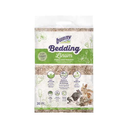 Bunny Nature Bedding Linum