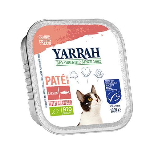 Yarrah Multipack Bio Paté Katzenfutter - Lachs