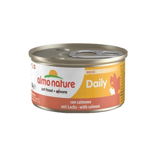 Almo Nature Daily Menu Mousse Katzenfutter - Dosen - Lachs
