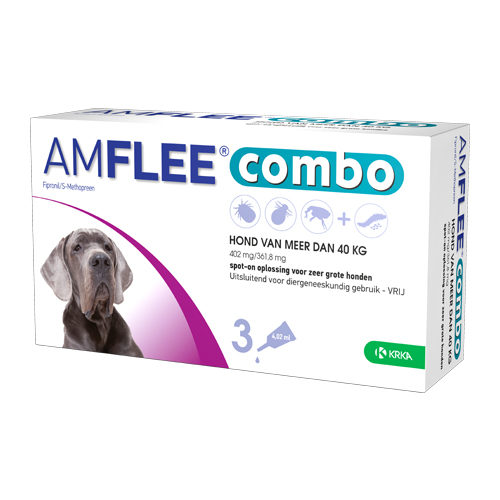 Amflee Combo Spot-on Hund 402 mg - mehr als 40 kg