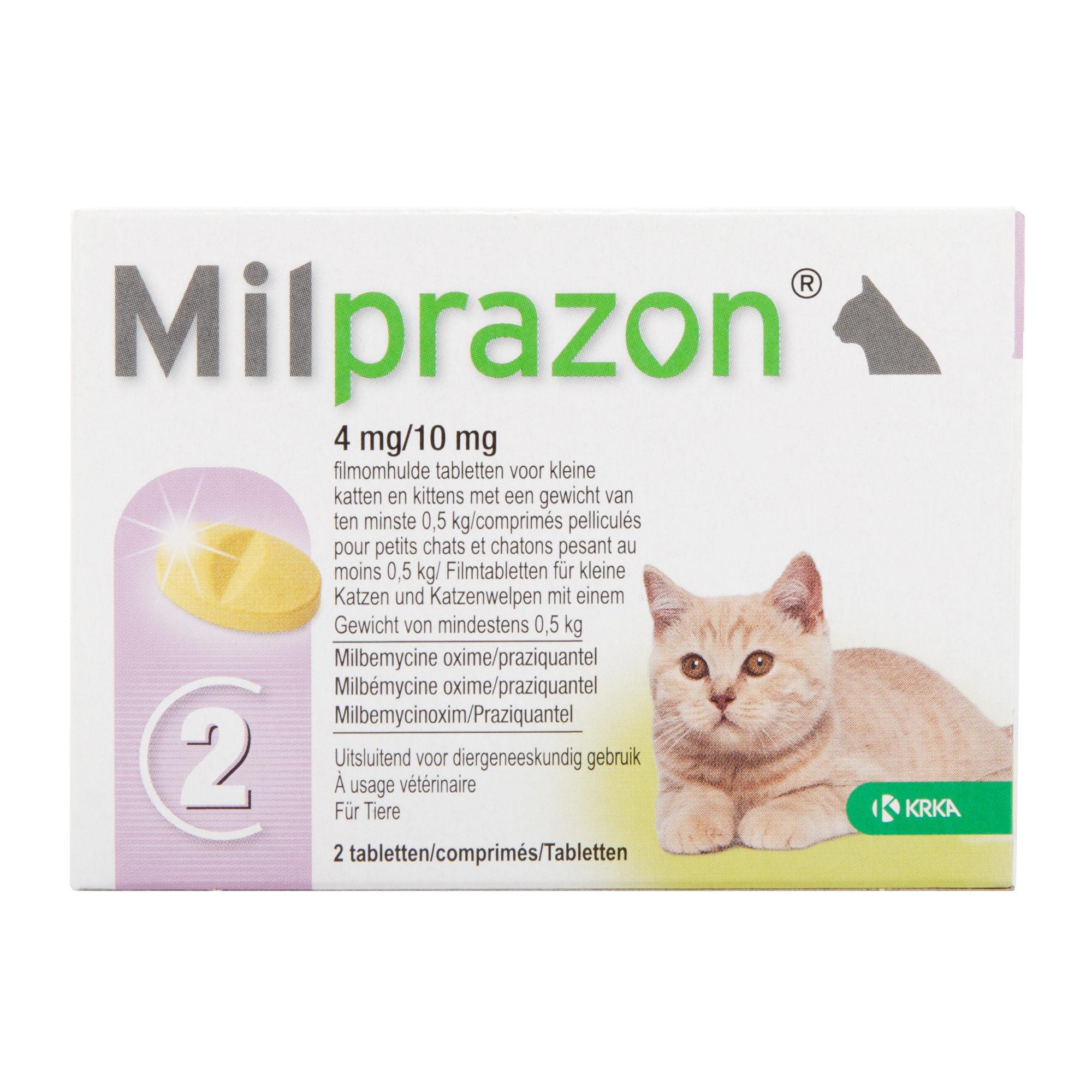 Milprazon - kleine Katze (4 mg)