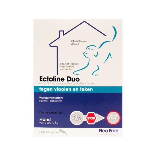 Flea Free Ectoline Duo Hund - 2 - 10 kg