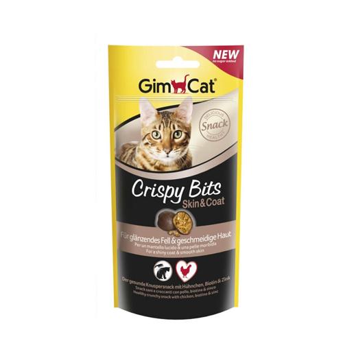 GimCat Crispy Bits - Skin & Coat