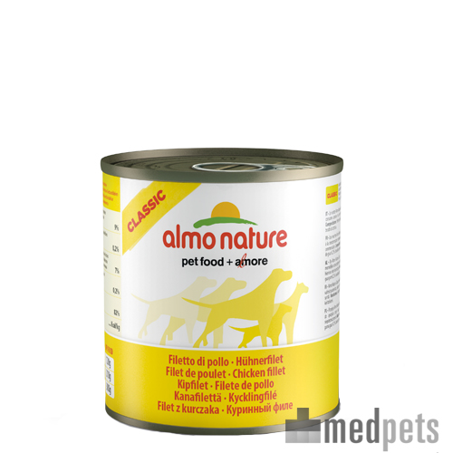 Almo Nature Classic Adult Hundefutter - Dosen - Hühnerbrust