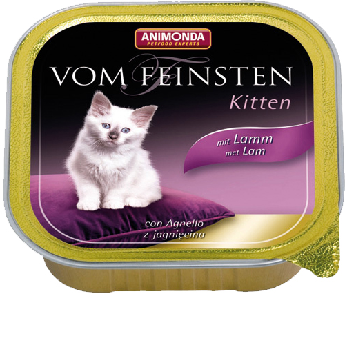 Animonda Vom Feinsten Kittenfutter - Lamm
