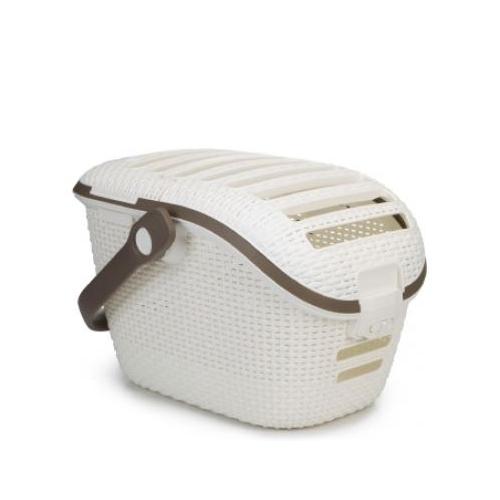 Curver Petlife Reisekorb - Weiß