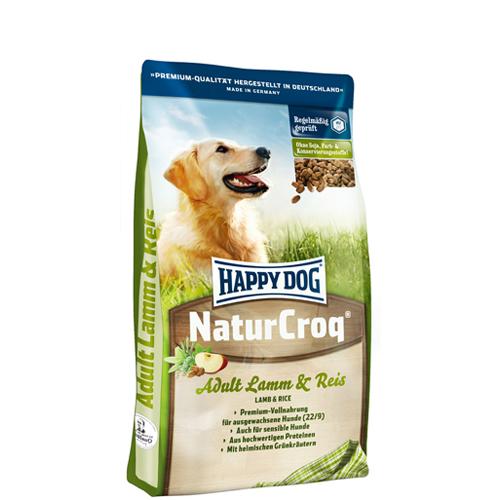 Happy Dog NaturCroq Hundefutter - Lamm & Reis