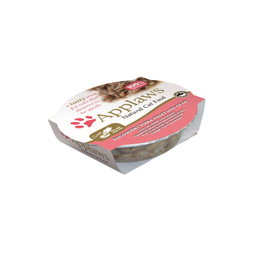 Applaws Pots Katzenfutter - Schälchen - Tuna Fillet & Crab