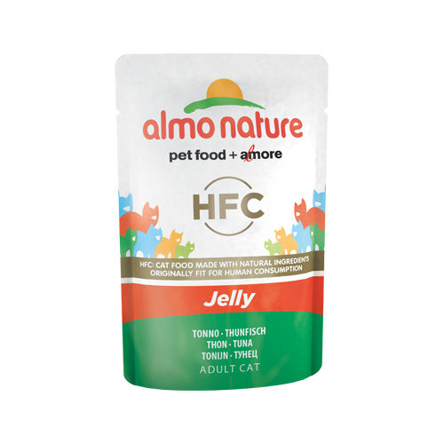 Almo Nature HFC Jelly Katzenfutter - Frischebeutel - Thunfisch