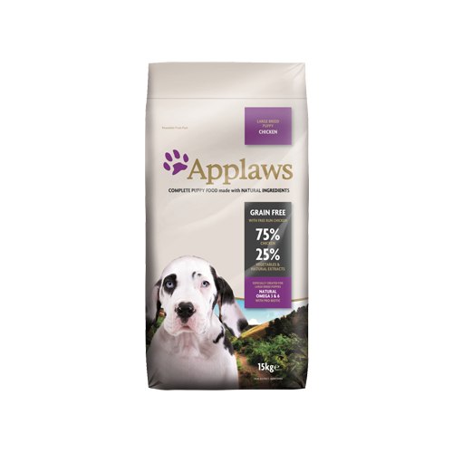 Applaws Puppy Large Breed Hundefutter - Huhn - 15 kg