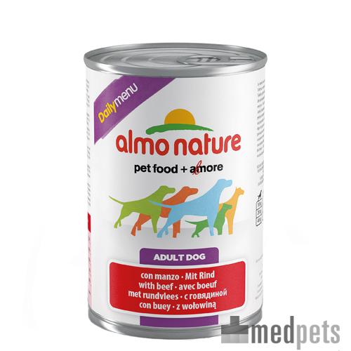 Almo Nature Daily Menu Paté Hundefutter - Dosen - Rind