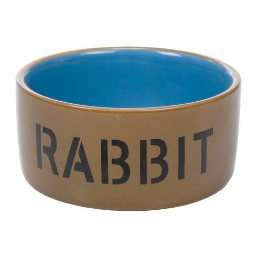 Beeztees Fressnapf aus Keramik - Kaninchen