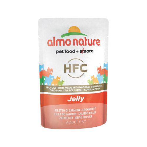 Almo Nature HFC Jelly Katzenfutter - Frischebeutel - Lachs