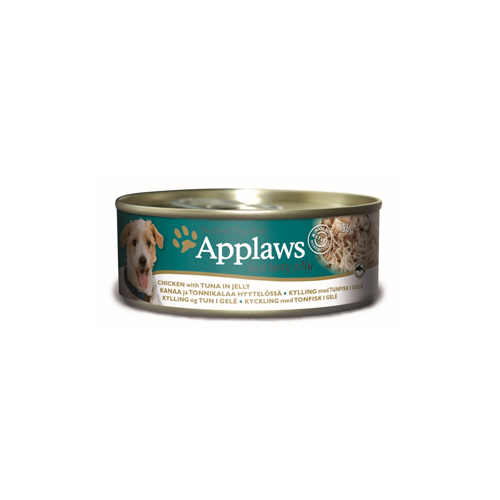 Applaws Hundefutter - Dosen - Chicken & Tuna in Jelly