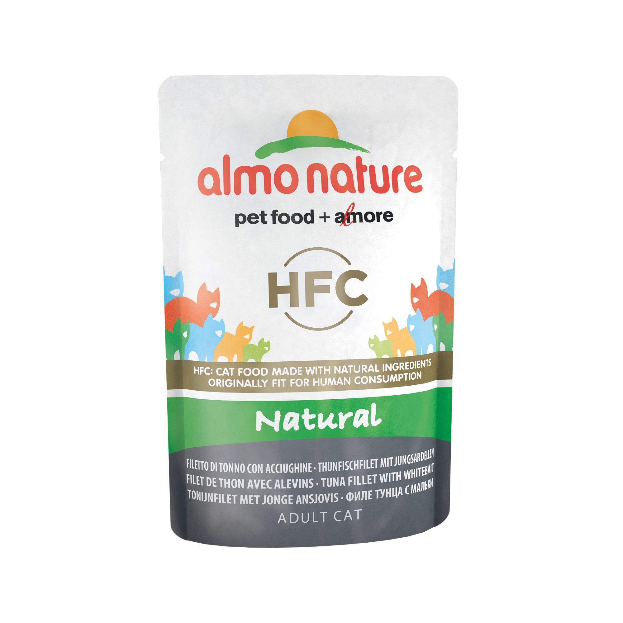 Almo Nature HFC Natural Katzenfutter - Dosen - Thunfisch & Jungsardellen