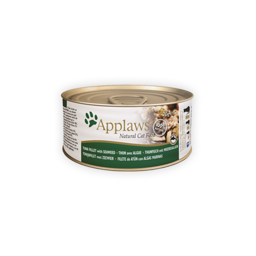 Applaws Katzenfutter - Dosen - Tuna Fillet & Seaweed