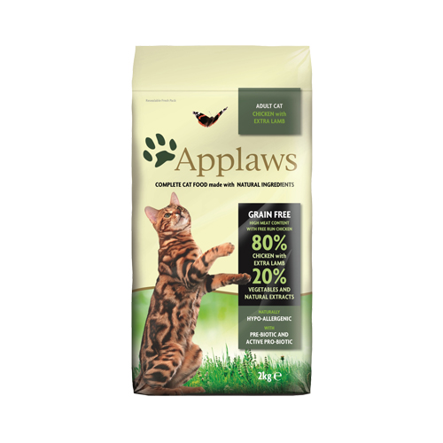 Applaws Adult Katzenfutter - Huhn & Lamm