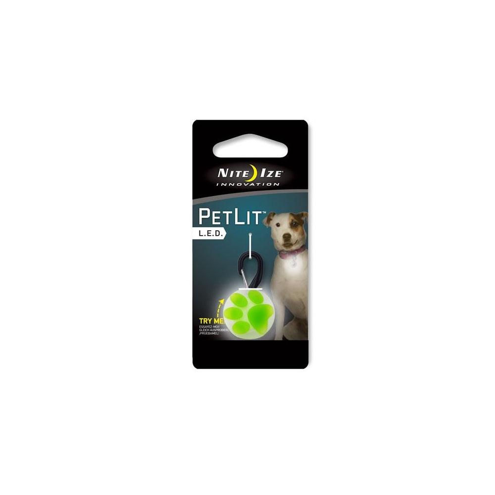 Nite Ize PetLit LED Collar Light - Grün
