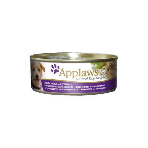 Applaws Hundefutter - Dosen - Chicken & Vegetables with Rice