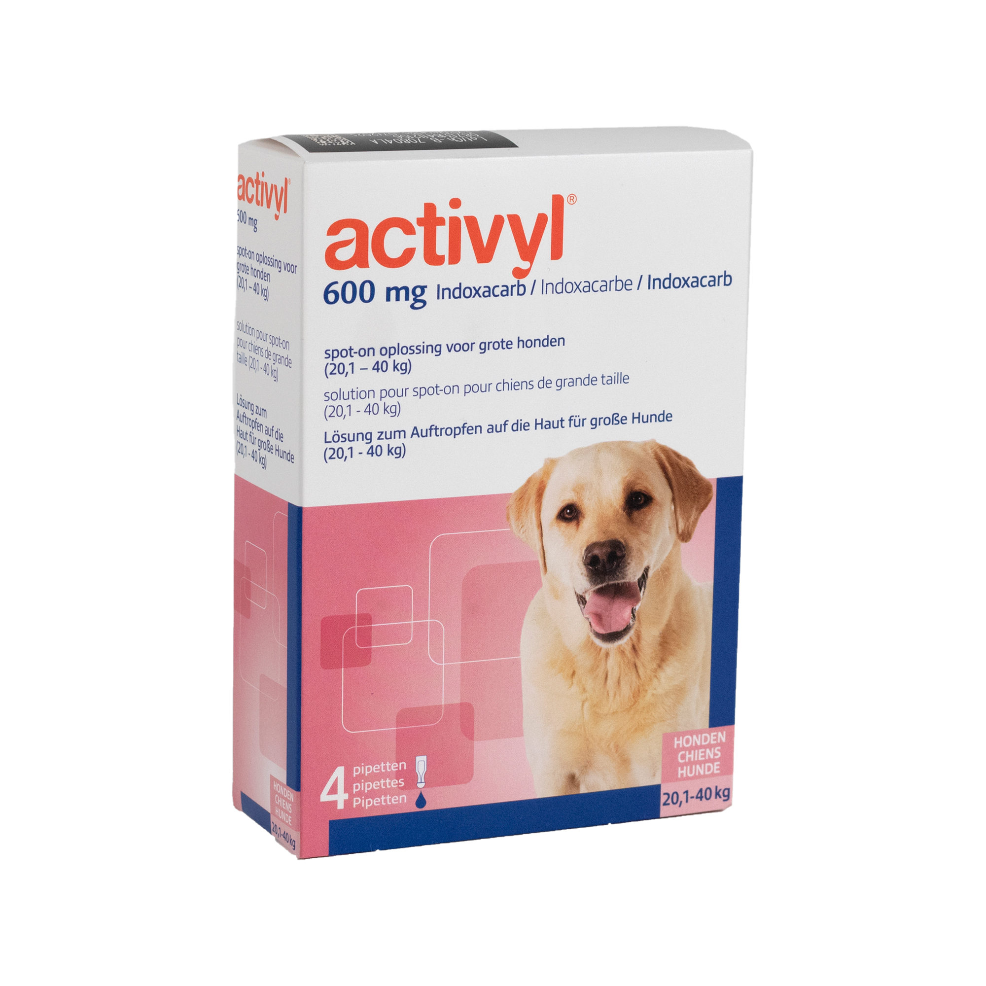 Activyl Spot-on Hund L - 20 - 40 kg